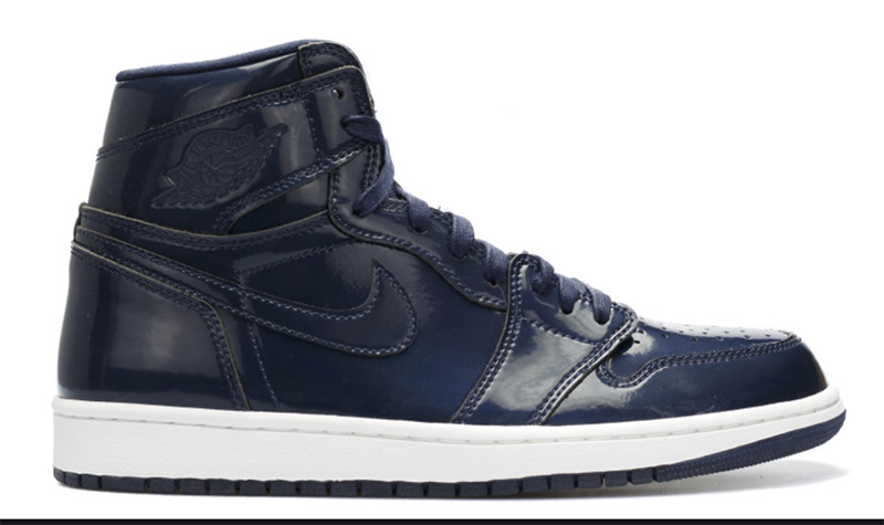 "2015 Air Jordan 1 Retro ""Dover Street Market DSM"" Obsidian / White - Summit White"