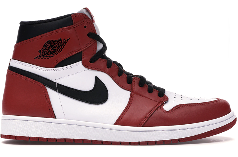 "2015 Air Jordan 1 Retro ""Chicago"" White / Varsity Red - Black"