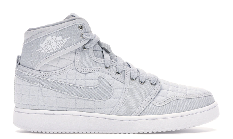 2016 Air Jordan 1 AJKO Pure Platinum / White - Metallic Silver