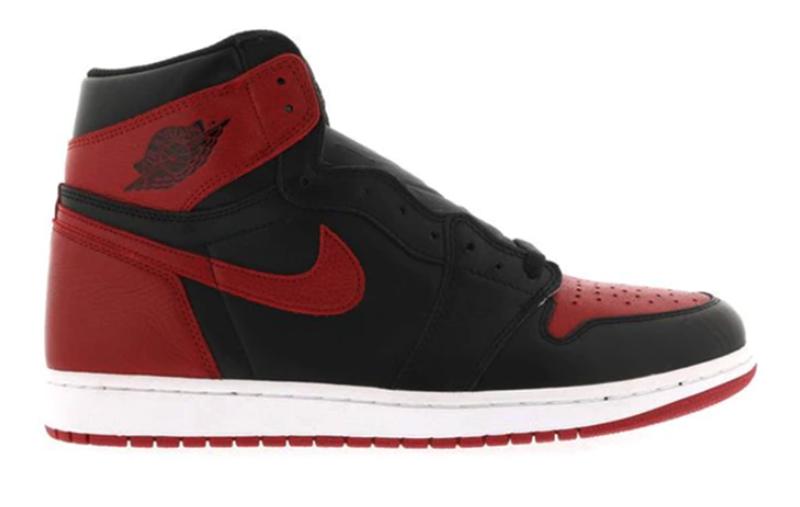 """2016 Air Jordan 1 Bread """"Banned"""" Black / Varsity Red - White"""