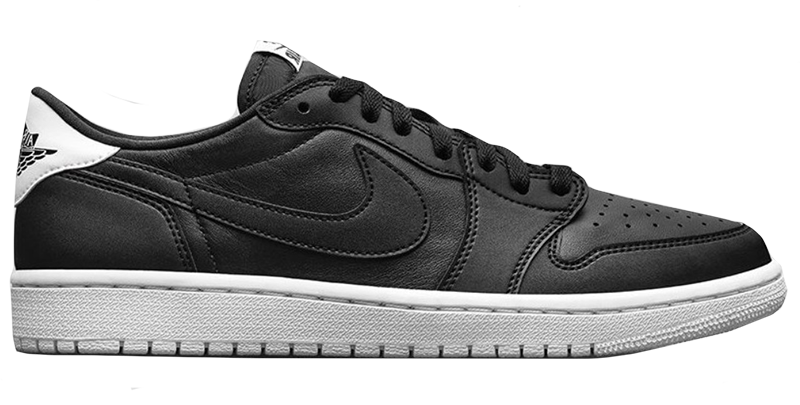 2016 Air Jordan 1 Low Black / White