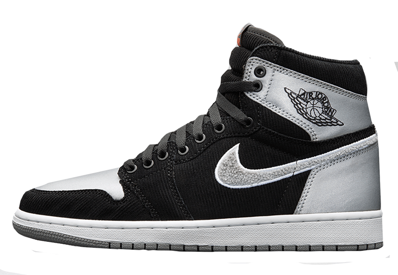 2017 Air Jordan 1 Black / Shadow Grey / White