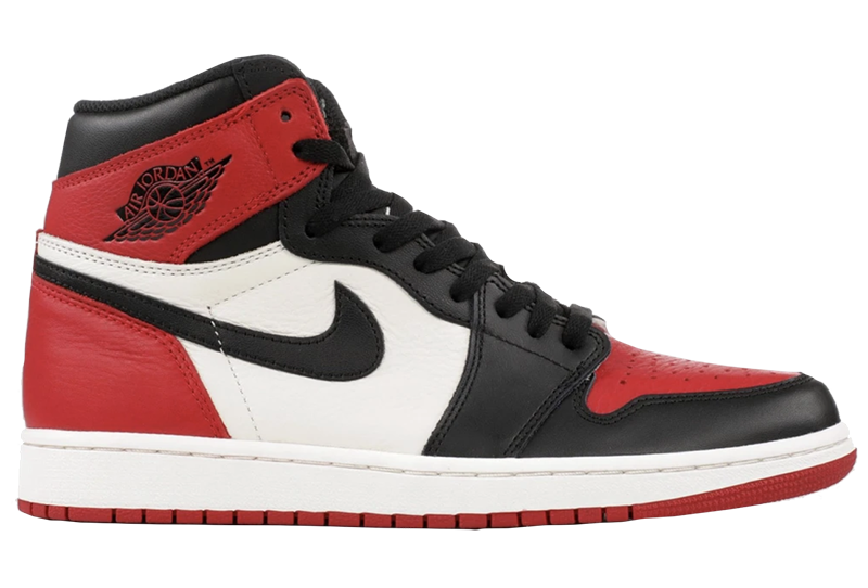 2018 Air Jordan 1 Retro Gym Red / Black - Summit White