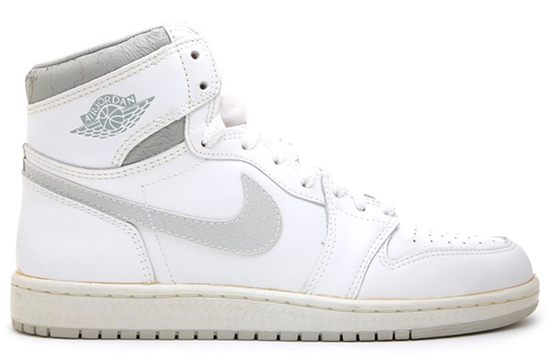 Air Jordan 1 White : Natural Grey 800