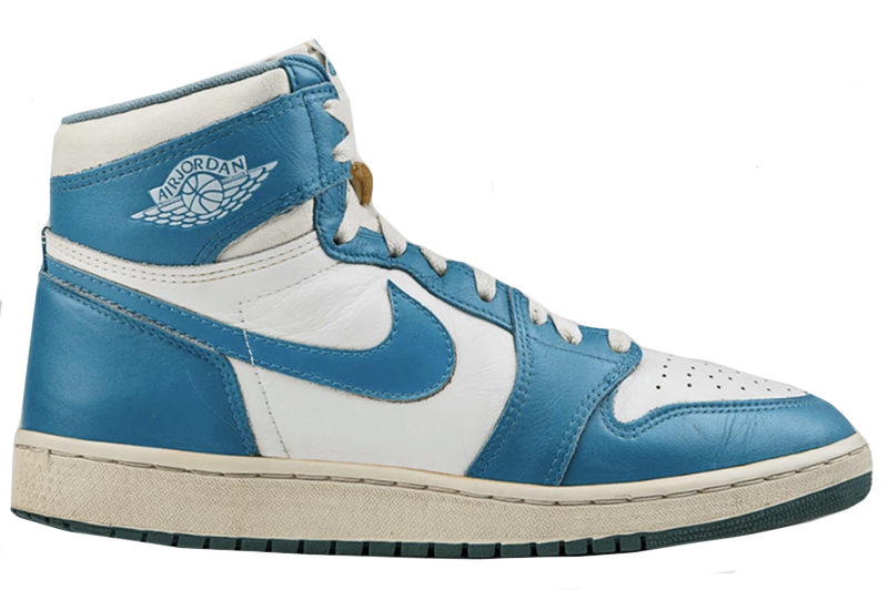 Air Jordan 1 White / Carolina Blue