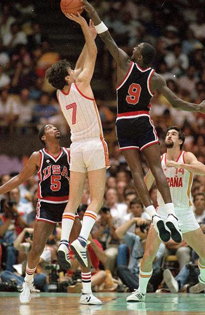 Michael Jordan alle olimpiadi di Los Angeles del 1984