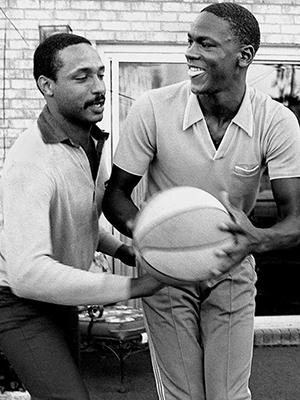 POP HERRING & Michael Jordan